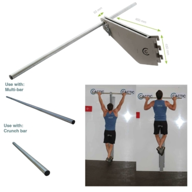 15. Single Column Pull Up Bar