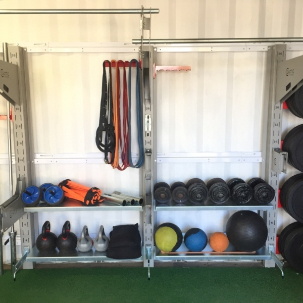 3 Column gym and storage combo - 1