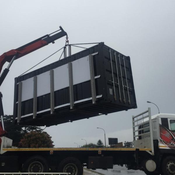 transportable modular gym