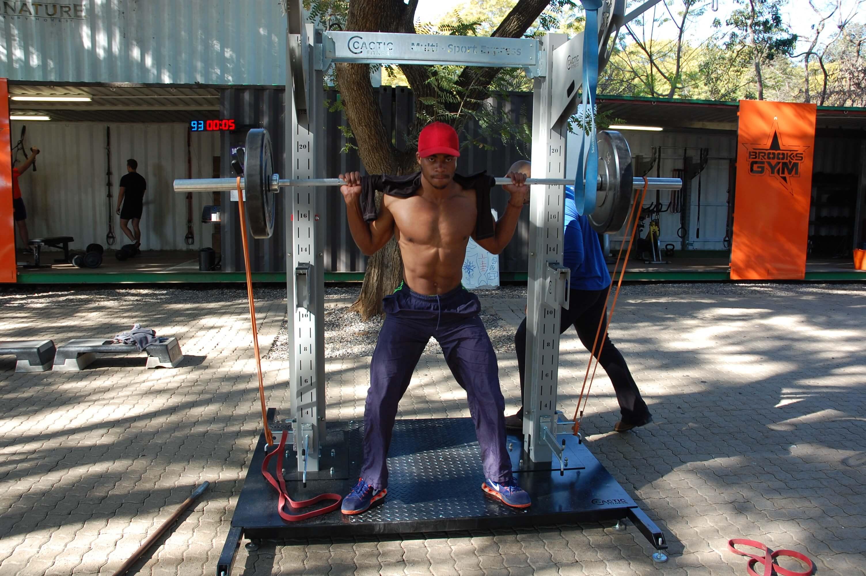 Multi Sport Express A Team Cactic Fitness Claude Maphosa 14 1