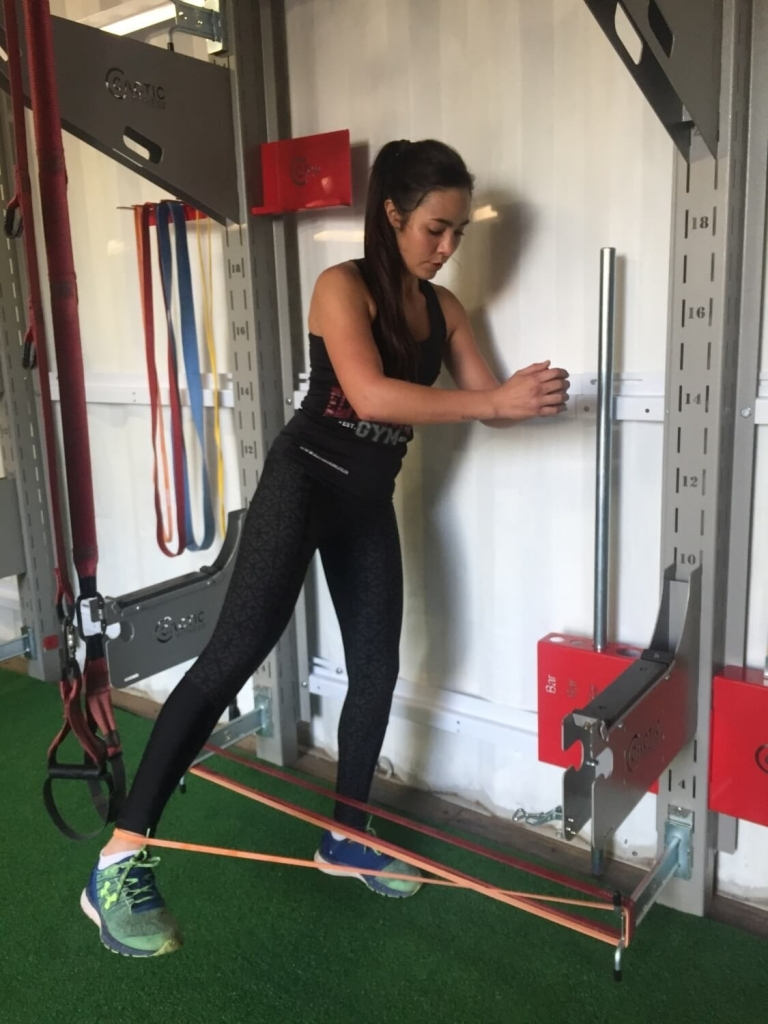 WallFit Cactic Fitness In use 106