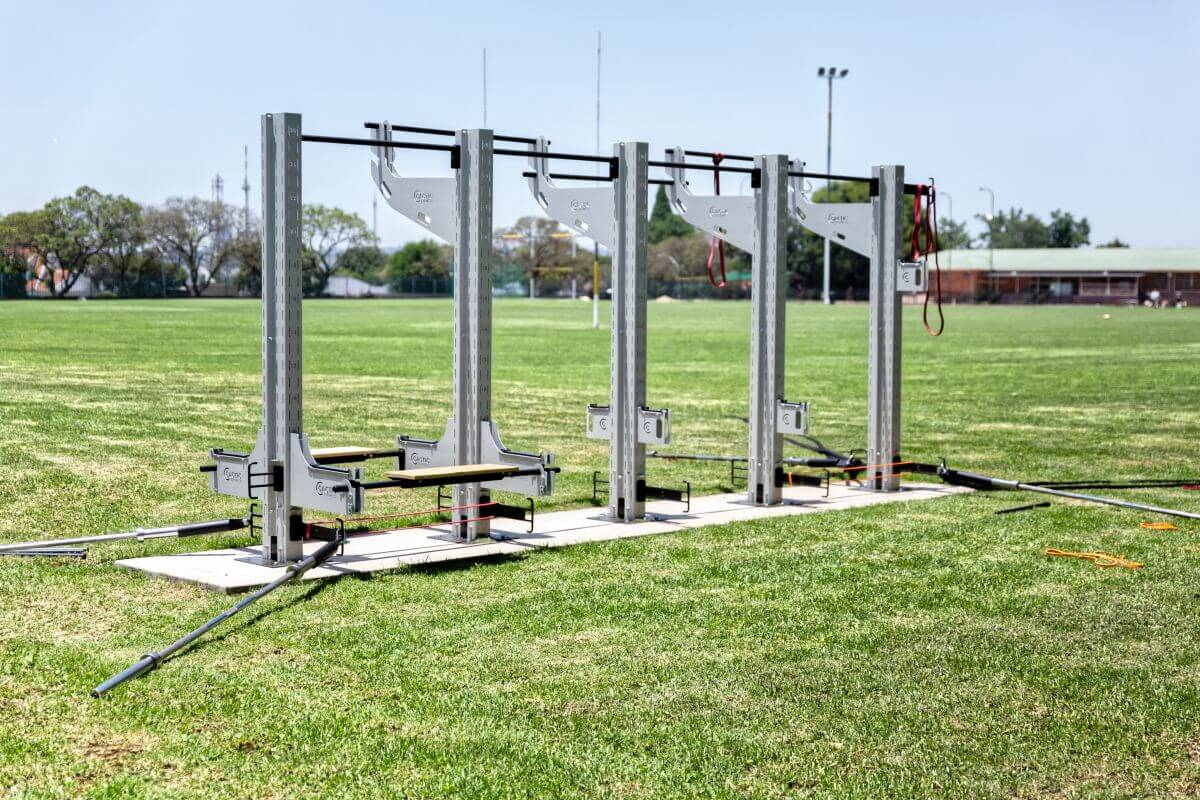 Outdoor school gym equipment Gridfit Gym Equipment
